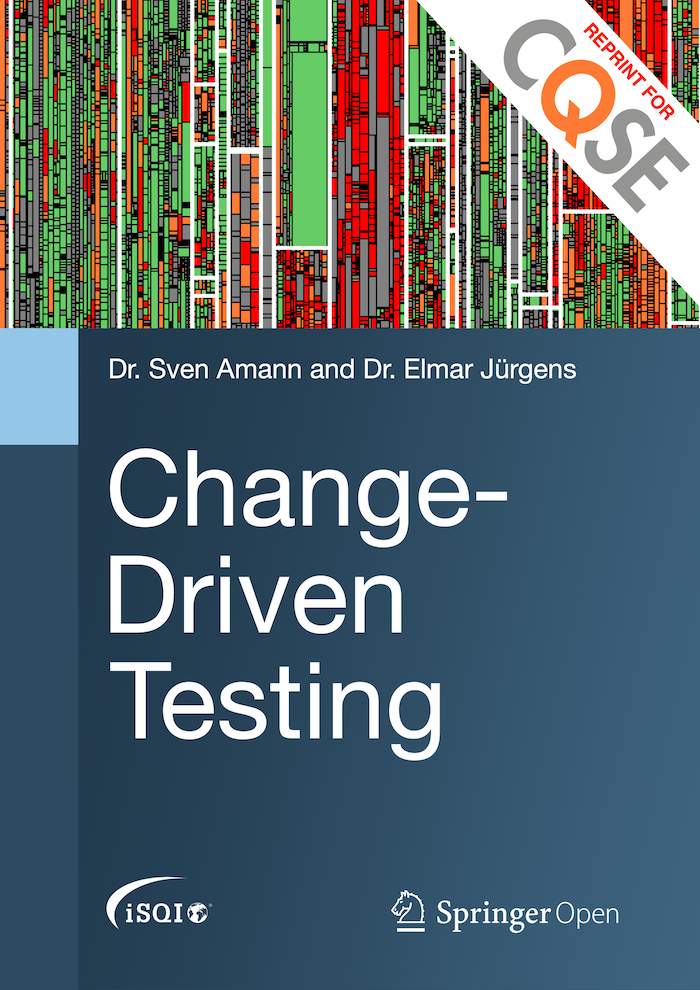 Change-Driven Testing makes testing both more efficient and effective.